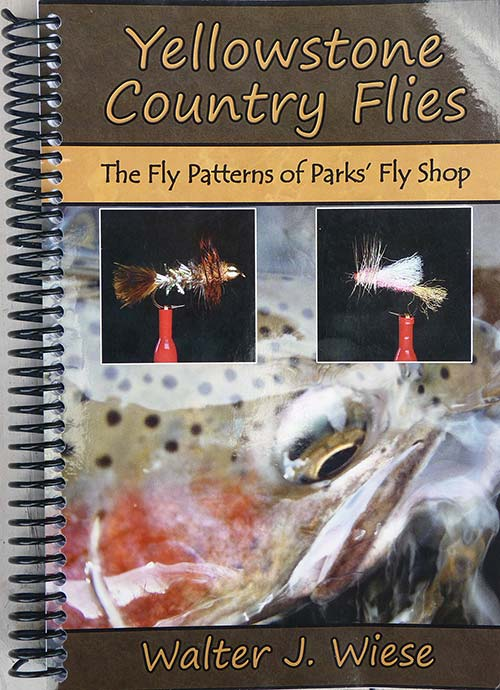 Cover of Yellowstone Country Flies, a fly fishing book by Walter Wiese