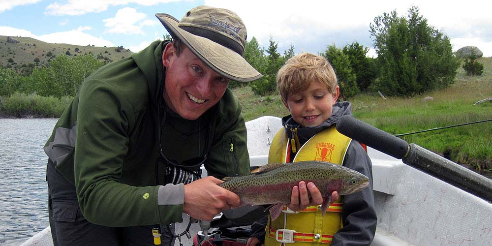 Private lake trips are the best chance beginners have of catching large trout, especially in the spring and early summer
